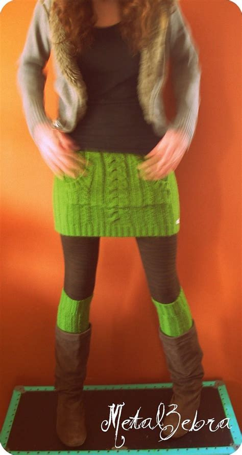 leg l sweater diy how to turn sweater into mittens leg warmers hat