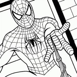 spiderman coloring book pages - spiderman coloring spiderman colouring book pages to