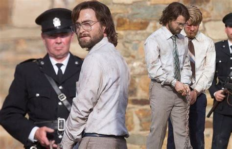 It is an account of how a white south african became conscious of the injustice. Daniel Radcliffe is shackled while filming Escape From ...