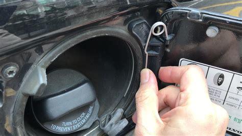 volvo xc fuel door repair  youtube