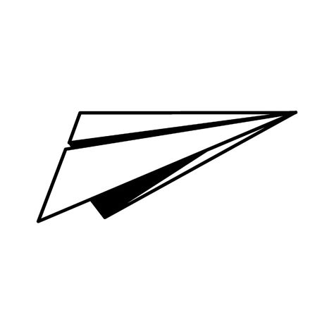 paper airplane clipart black and white paper plane clipart clipartxtras