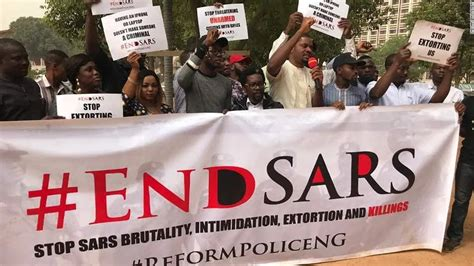 Daily Trust - #EndSARS: Protesters besiege force headquarters