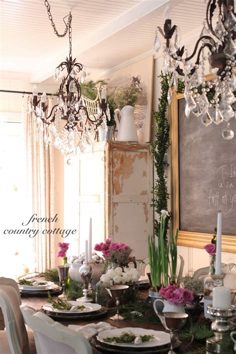 Romantic Holiday Dining  French Country Cottage