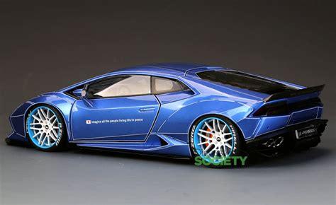 auto customed model lb lamborghini huracan blue
