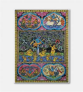 Pattachitra - Ancient art of painting stories on cloth ...