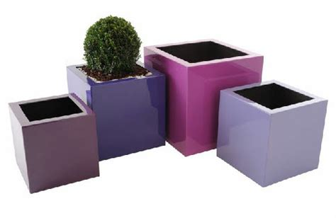Square Plant Containers by Grp Square Planters