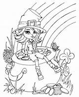 Pot Gold Coloring Pages Jadedragonne Deviantart Sheets Colouring sketch template