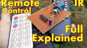 Ir Remote Control On Off Switch Circuit Diagram