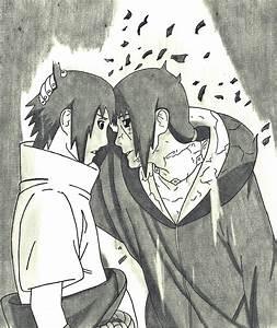 Itachi and sasuke drawing by MinatoUchiha4 on DeviantArt
