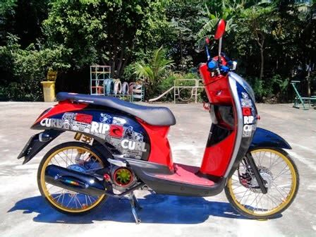Scoopy Fi Ring 17 by Scoopy Fi Modifikasi Velg 17
