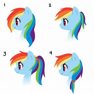 Older Rainbow Dash hair styles | My Little Pony ...
