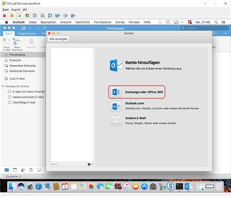 Office 365 Outlook On Mac by Set Up Office 365 Account In Outlook 2016 On Mac