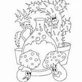 Coloring Pages Devil Halloween Mushroom Monsters Potion Magic Monster Drawing Getcolorings Printable Scary Frankenstein Head Getdrawings Colori sketch template