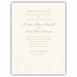 embossed flower wedding invitations paperstyle With wedding invitation embossing stencil