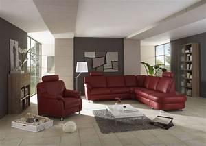 canape d39angle tavira rouge sb meubles discount With tapis rouge avec canapé d angle chez atlas