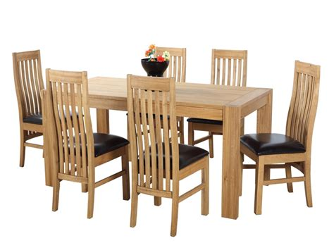 oak dining table chairs arta marble dining table and chairs furniture