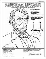 Coloring President Pages Lincoln Abraham Presidents Printable American Jackson Andrew Congress Kindergarten Books States United Log Activity Template Getdrawings Jefferson sketch template