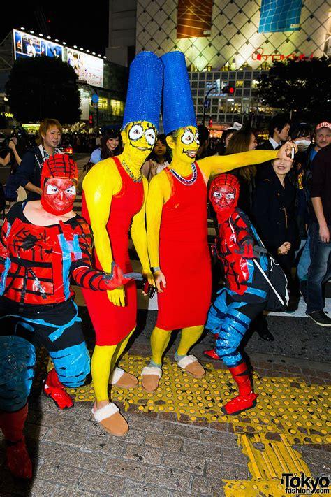 halloween eve  japan  halloween costume pictures tokyo fashion