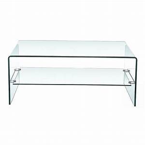 Bent glass coffee table with shelf xcella for 2 shelf glass coffee table