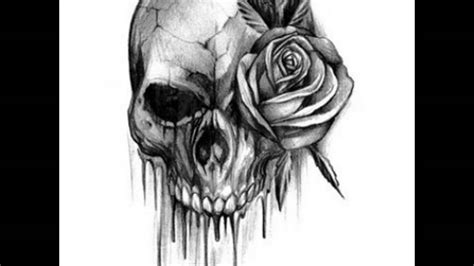 Skull Tattoo Designs And Ideas Youtube