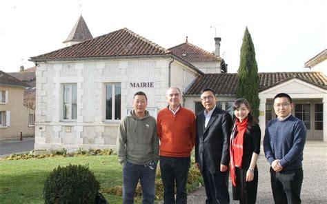 chambre de commerce franco chinoise reignac chambre de commerce chinoise en visite charente