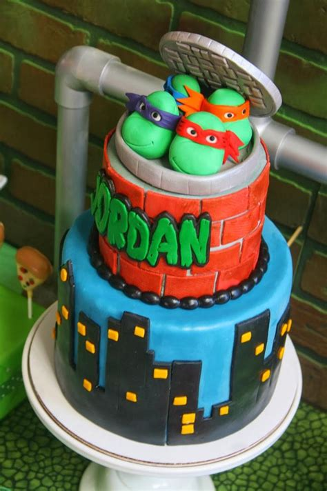 tudo pra sua festa festa infantil tema tartaruga ninja