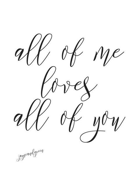 """More love songs to play on the enter your email address. Instant Download All Of Me Loves All Of You Printable PDF 8x10"""" Song Lyrics Wall Art Gallery Art ..."""