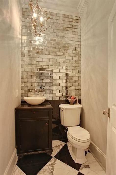 Guest Bathroom Downstairs? Bathroom Ideas Gilded Tile For
