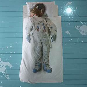 astronaut space boy / girl single bed set by little baby ...