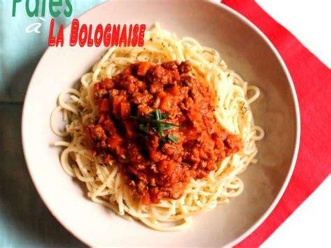 pate a la bolognaise recette recettes de p 226 te 224 la bolognaise