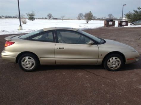 free car manuals to download 1999 saturn s series lane departure warning purchase used 1999 saturn coupe sedan sporty two door s series dohc manual new stickers in