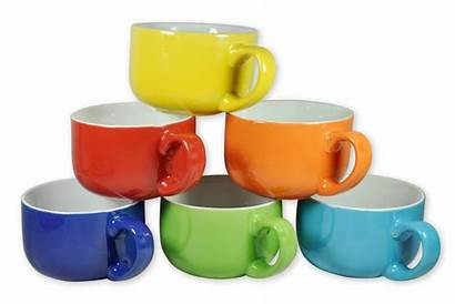 Soup Coffee Mugs Ceramic Colored Ounce Reg