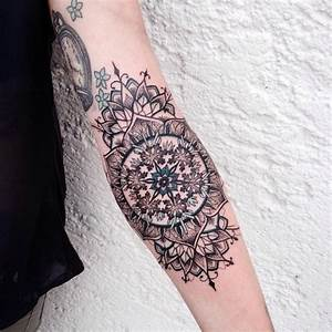 Mandala Tattoo Unterarm : mandala forearm tattoo best tattoo ideas gallery ~ Frokenaadalensverden.com Haus und Dekorationen