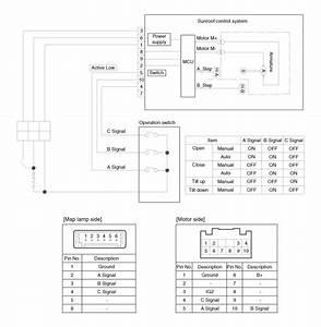 Hyundai Elantra  Schematic Diagrams - Sun Roof