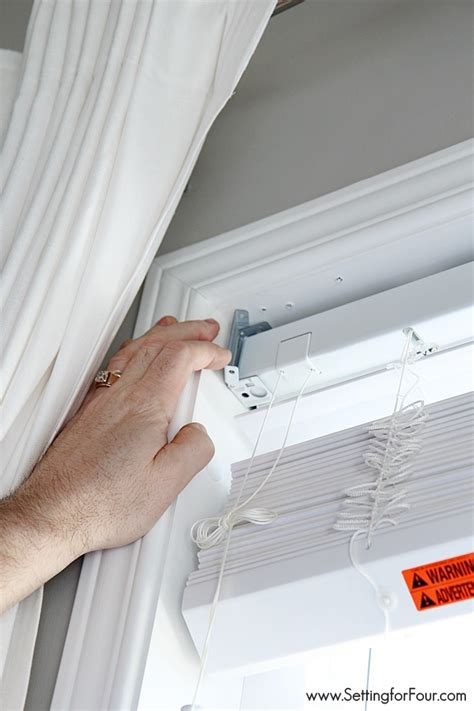 how to install blinds updating the windows faux wood blinds installation