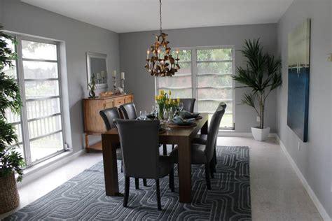 25+ Grey Dining Room Designs, Decorating Ideas  Design