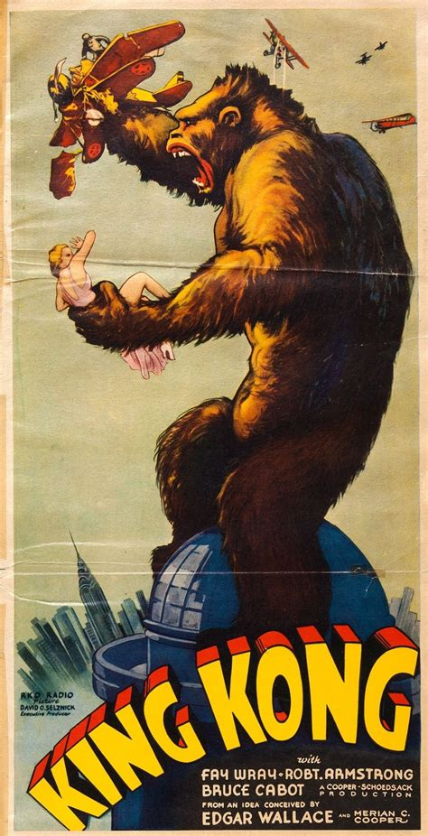 King Kong (1933) Film posters Horror posters Vintage