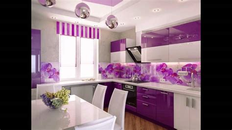 purple kitchens design ideas purple kitchen interior design ideas 4457
