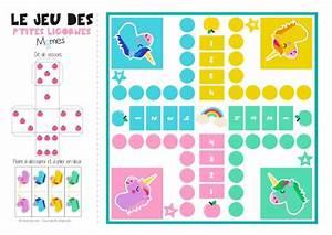 Jeux De Petit Chevaux Gratuit A Telecharger : jeu de petits chevaux imprimer version licornes ~ Melissatoandfro.com Idées de Décoration