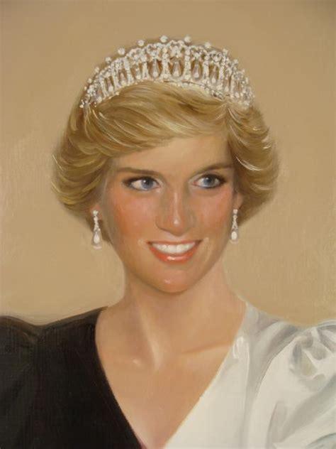 original diana william chambers original princess diana painting