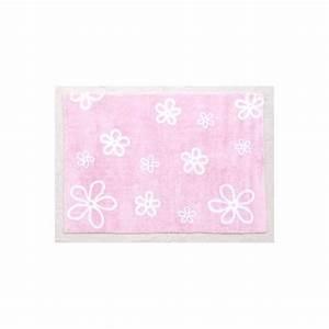 tapis decoratif et colore pour enfants motifs fleurs par With tapis chambre bébé avec tapis champ de fleurs avis