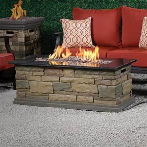 Canyon Ridge 48 In  Fire Table  U2013 Bond Mfg Heating