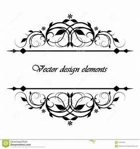 Calligraphic, Patterns, Stock, Vector, Illustration, Of, Menu