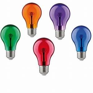 E27 Led Leuchtmittel : buntes led leuchtmittel 1watt e27 a60 wohnlicht ~ Watch28wear.com Haus und Dekorationen