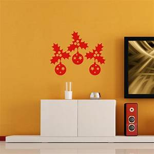 stickers decoration noel adhesifs stickers noel With carrelage adhesif salle de bain avec arbre noel led