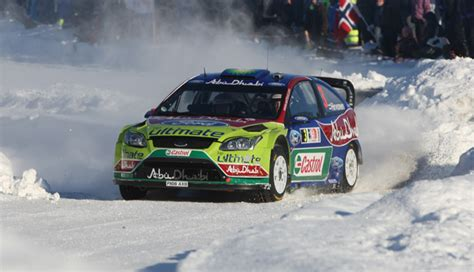 ford secures double podium  classic norway snow spectacular