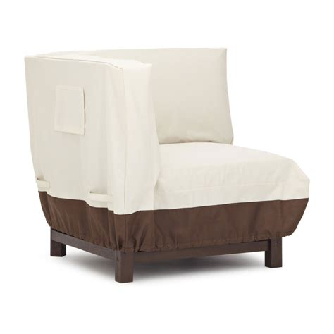 strathwood sectional corner lounge chair furniture cover patio chair covers