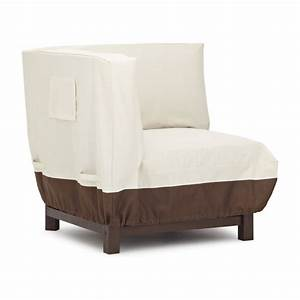 Amazoncom strathwood sectional corner lounge chair for Furniture covers for outdoors
