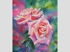 Famous Watercolor Flower Paintings – WeNeedFun