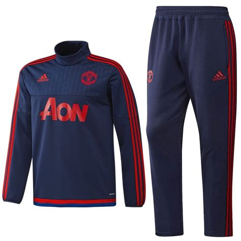 manchester united technical training tracksuit